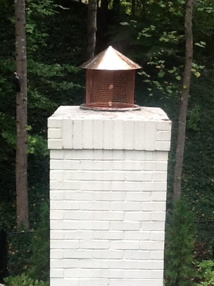 Copper Cone Cap