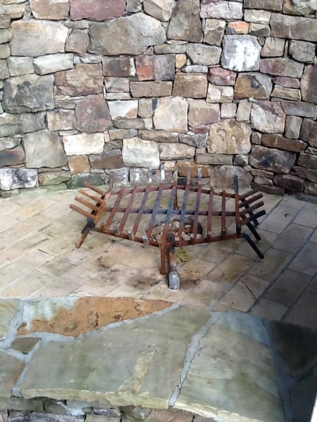 Outdoor Firepit Grate