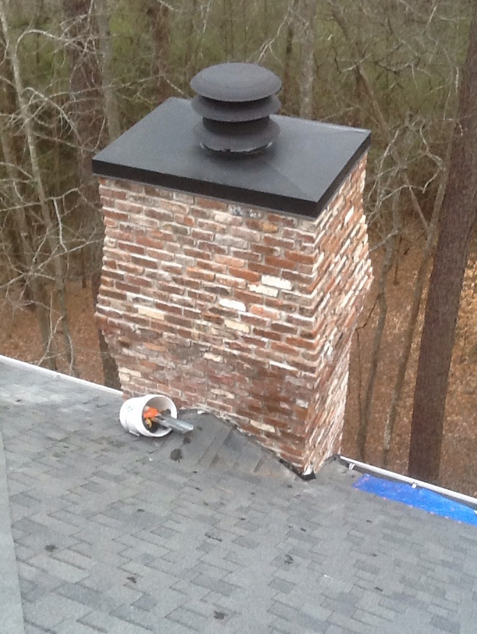 Custom Rain Pan For Chimney