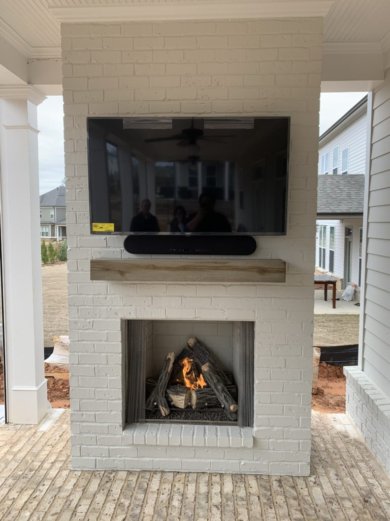 new fireplaces outdoor