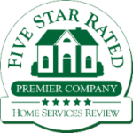 Five Star Rated Premier Company Logo